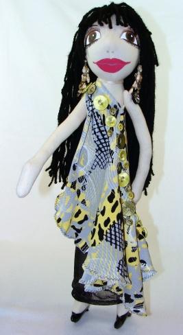 Cher standing