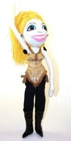 Madonna standing